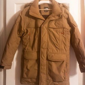 North Face McMurdo goose down parka with hood